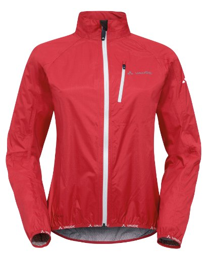 VAUDE Damen Jacke Drop Jacket, Red, 42, 04964 -