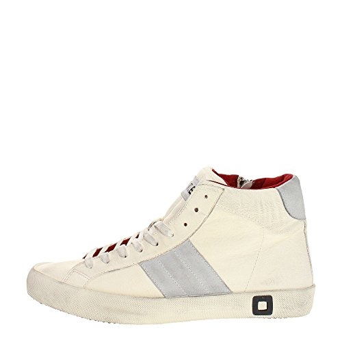D.a.t.e. HILL-G Sneakers Uomo Pelle Bianco Bianco 45