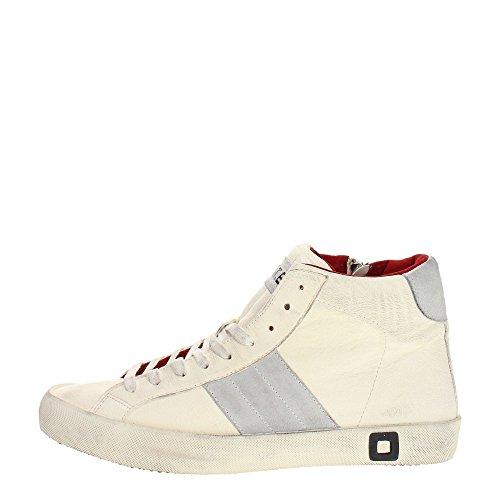 D.a.t.e. HILL-G Sneakers Uomo Pelle Bianco Bianco 45