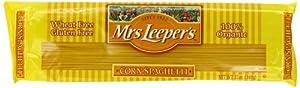 Mrs. Leeper's Pasta Organic, Corn Spaghetti, 12-Ounce Bags (Pack of 12)