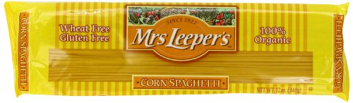 Mrs. Leeper's Pasta Organic, Corn Spaghetti, 12-Ounce Bags (Pack of 12) (Mrs Leepers Corn compare prices)