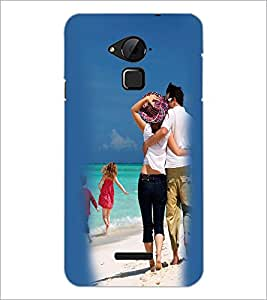 PrintDhaba Couple D-2452 Back Case Cover for COOLPAD NOTE 3 LITE (Multi-Coloured)