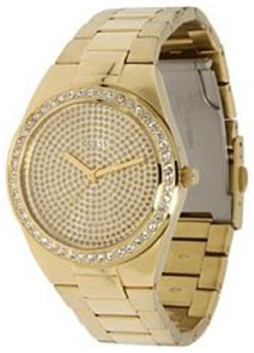 GUESS U11055L1 Sporty Radiance Watch, Gold