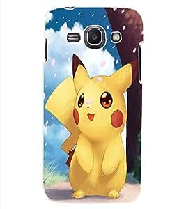 ColourCraft Cute Cartoon Creature Design Back Case Cover for SAMSUNG GALAXY ACE 3 3G S7270