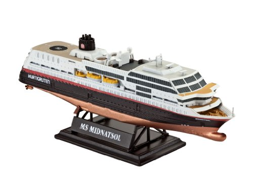 Revell of Germany MS Midnatsol (Hurtigruten) Plastic Model Kit - 1