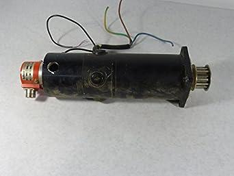 Gec Alsthom Rx520k Electric Motor Hohner H33p50 Encoder