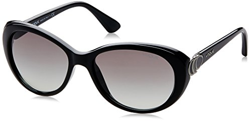 Vogue Gradient Cat Eye Sunglasses (0VO2770SW44/11Medium) (Black)