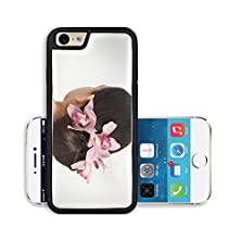 buy Liili Premium Apple Iphone 6 Iphone 6S Aluminum Snap Case The Girl With Orchids In Hair Image Id 13039541