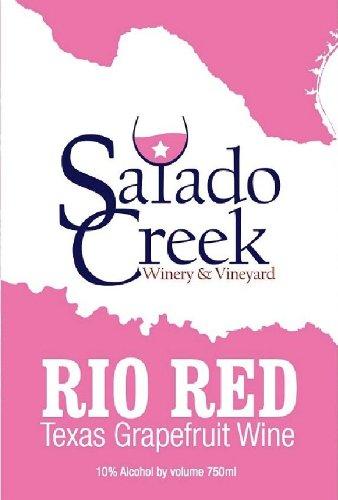 Nv Salado Creek Winery & Vineyard Rio Red Grapefruit 750 Ml