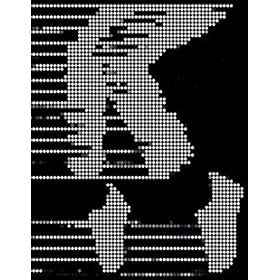 Michael Jackson Moonwalk Halftone Pop Art