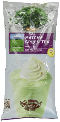 MOCAFE Matcha Green Tea Blended Tea Latte, 3-Pound Bag