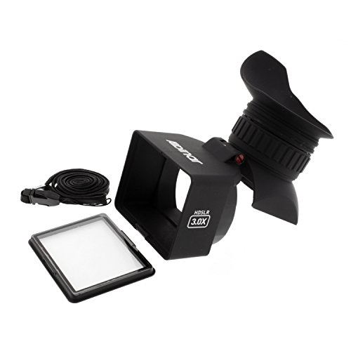 """Albinar Vf-5 Foldable Lcd Viewfinder With 3.0X Magnification For 3.0"""" Screens Hd Dslr"""