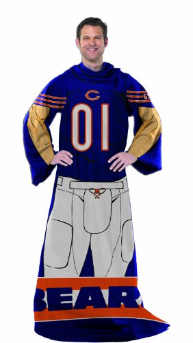 NFL Chicago Bears Full Body Player Comfy Throw