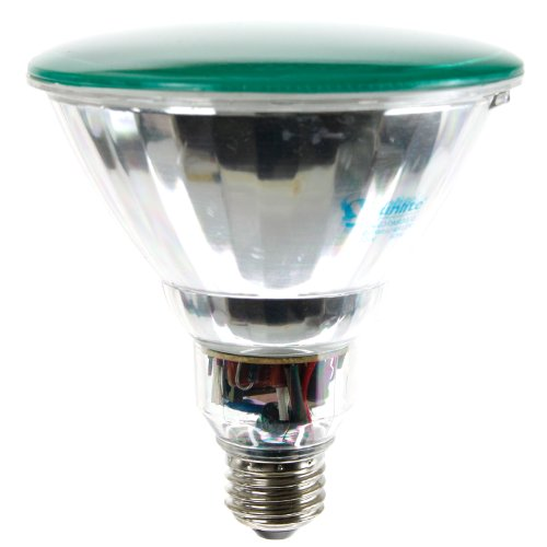 Sunlite SL23PAR38/G 23 Watt PAR38 Energy Saving CFL Light Bulb Medium Base Green