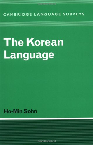 The Korean Language (Cambridge Language Surveys)