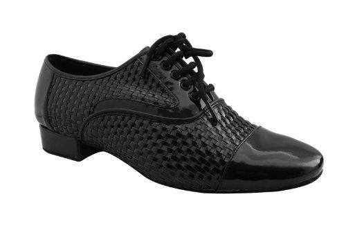 HenryG Men's Standard Ballroom Dance Shoes Patent, HGB-3062B