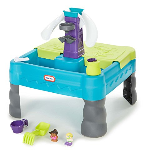 Little Tikes Sandy Lagoon Waterpark Play Table, Teal/Green (Little Tikes Tables compare prices)