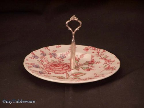 JOHNSON BROS. ROSE CHINTZ PINK MINT TRAY - Buy JOHNSON BROS. ROSE CHINTZ PINK MINT TRAY - Purchase JOHNSON BROS. ROSE CHINTZ PINK MINT TRAY (JOHNSON BROS. - Made in CHINA, Home & Garden, Categories, Kitchen & Dining, Tableware)