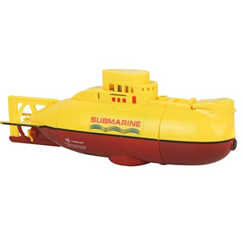 POTO RC 6CH Toys Water Boat Speedboat Model High Powered 3.7V Toy Boat Plastic Model Remote Control Boat for Pools, Lakes and Outdoor Adventure - YELLOW (Celebrity Cruise Ship Model compare prices)