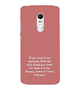 EPICCASE true love Mobile Back Case Cover For Lenovo Vibe X3 (Designer Case)