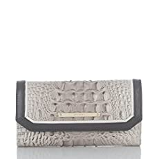 Soft Checkbook Wallet<br>Paloma Tri-Texture