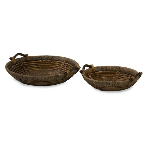 IMAX Oversized Willow Trays