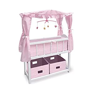 Baby Doll Crib With Canopy Baby Doll Accessories By Ashton Drake Toys Games