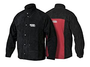 Lincoln Electric K2989 Heavy Duty Leather Welding Jacket from Lincoln Electric