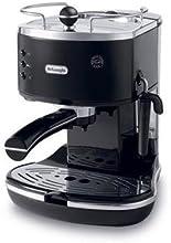 DeLonghi ECO 310 BK Espressomaschine mit 1050 Watt 15 bar Pumpendruck schwarz