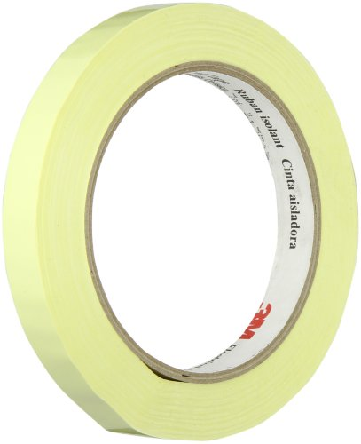 Tapecase 1350F-1Y 0.5In X 72Yd Yellow Electrical Tape (1 Roll)