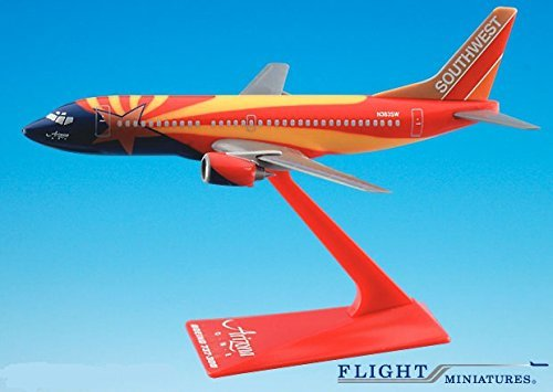 Southwest Arizona 737-300 Airplane Miniature Model Plastic Snap Fit 1:200 Part# ABO-73730H-402 by Flight Miniatures (Southwest Airlines Model compare prices)
