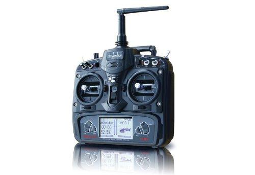 US Ship Walkera Devo 10 2.4G Transmitter 10ch Telemetry RC Transmitter W/o Rx