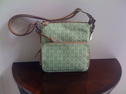 New Authentic Fossil Marley Camera Bag (Green)