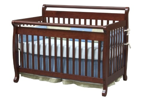 Best prices davinci emily convertible baby crib in cherry for Best value baby crib