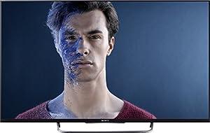 Sony BRAVIA KDL-50W805 126 cm (50 Zoll) 3D LED-Backlight-Fernseher (Full HD, Motionflow XR 400Hz, WLAN, Smart TV, DVB-T/C/S2) schwarz