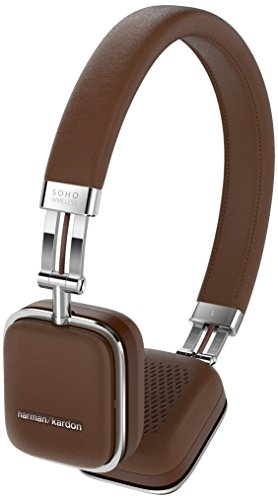 Harman Kardon SOHO wireless faltbarer On-Ear Mini Bluetooth Kopfhörer braun