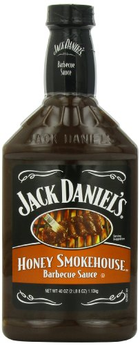Jack Daniel'S Honey Smokehouse Barbecue Sauce, 40 Ounce Bottles (Pack Of 3)