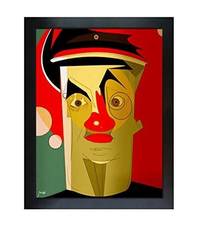 Ofir Sasson Alex Framed Print On Canvas, Multi, 44.75″ x 34.75″