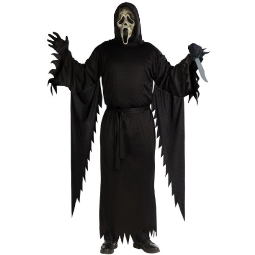 Zombie Ghost Face Adult Costume (As Shown;One Size)
