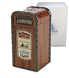 Disney Frontierland Trash Can Salt or Pepper Shaker - Park Exclusive & Limited Avialability by Disney