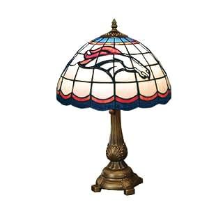 amazoncom nfl denver broncos tiffany table lamp