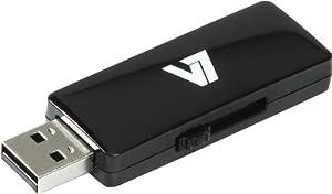 V7 USB 2.0 Flash Drive, 16GB (VU216GAR-BLK-2N)