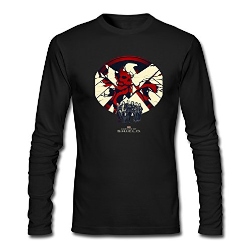 Agents Of S H I E L D For Mens Long Sleeves Outlet