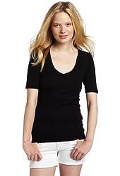 Splendid Women's 1X1 Short-Sleeve T-Shirt