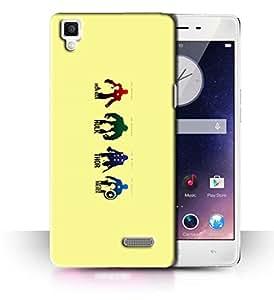 PrintFunny Designer Printed Case For Oppo R7