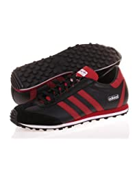 Adidas Night Nite Jogger Black Red Shoe Size