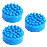 ZTDM 3pcs Rubber Mouse TrackPoint Blue Cap for Dell Toshiba Laptop