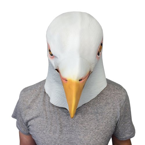 White Pigeon Mask - Funny Animal Mask - Off the Wall Toys