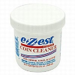 E*Z*EST Coin Cleaner 5oz. jar (Qty = 1 Jar)
