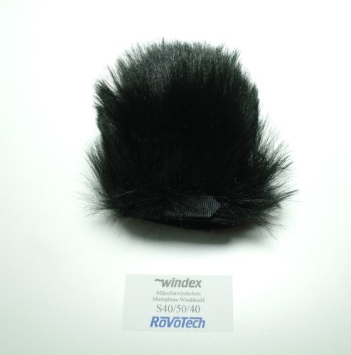 """Windshield """"S40/50/40"""" For Camcorder With 1.57 Inch Hairlength"""